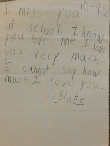 Blake's Note